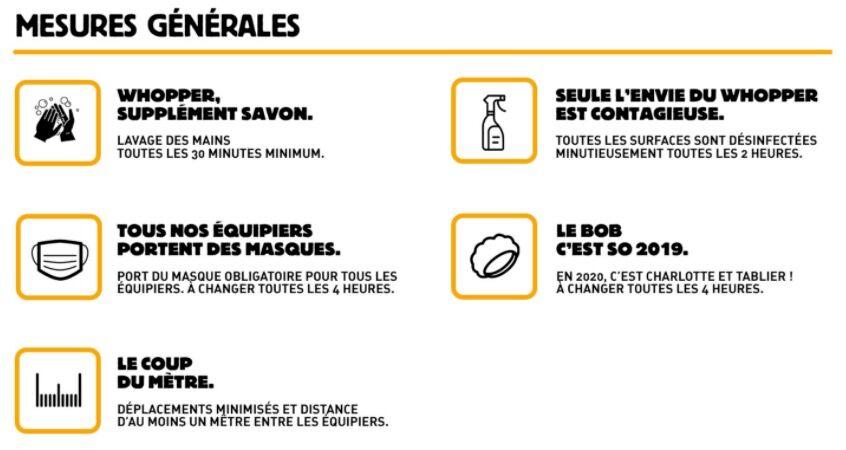 Confinement : quels sont les Burger King ouverts en France