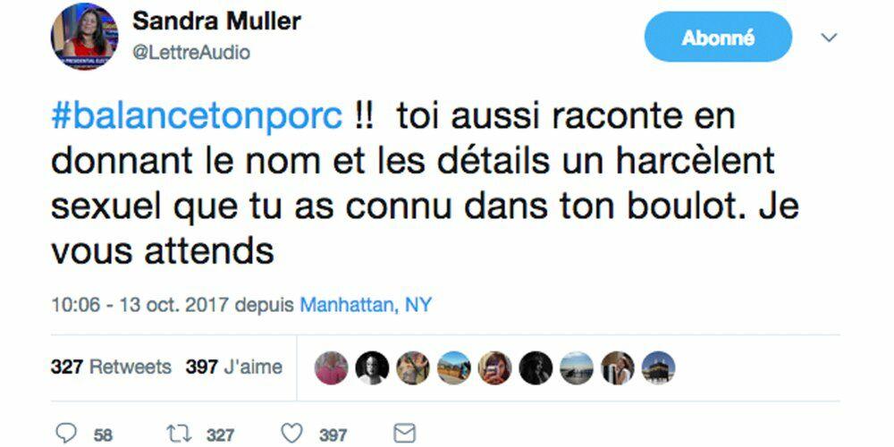 Sandra Muller condamnée pour diffamation deux ans après #BalanceTonPorc
