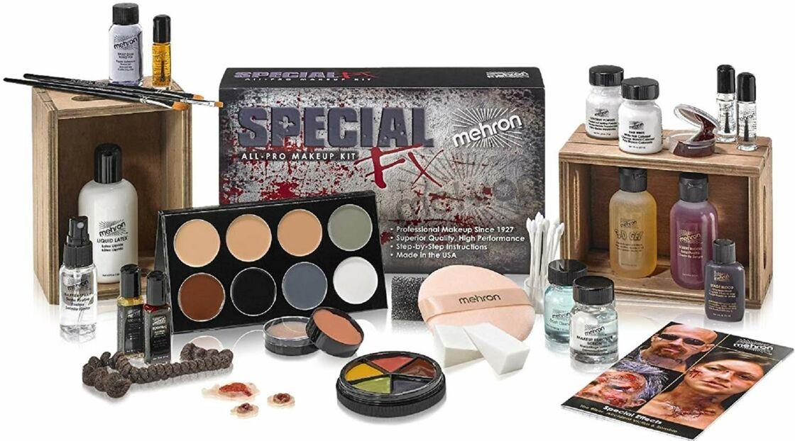 Halloween : le maquillage FX pour créer des illusions bluffantes…