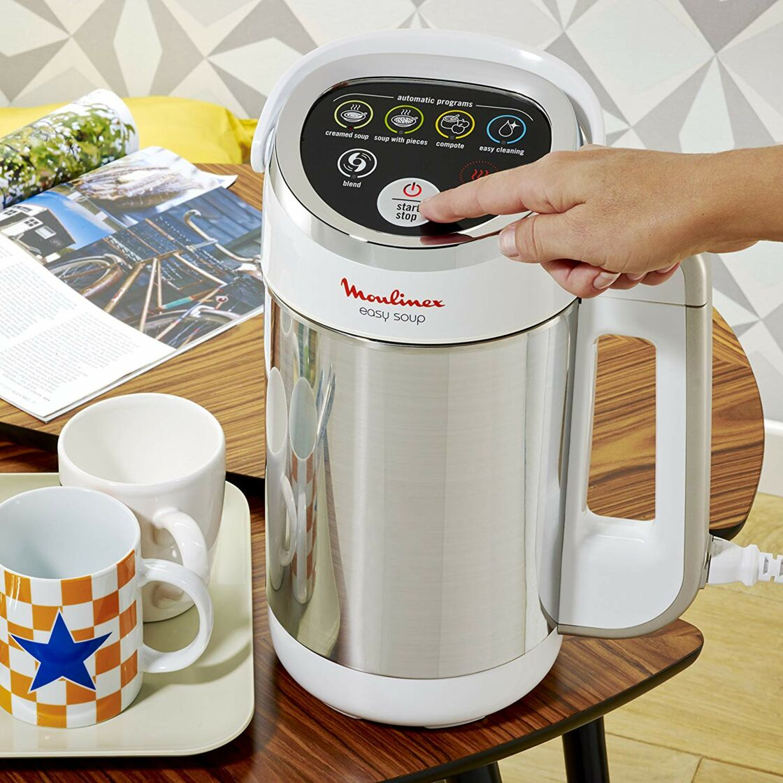 Blender Moulinex Easy Soup en promotion chez Amazon…