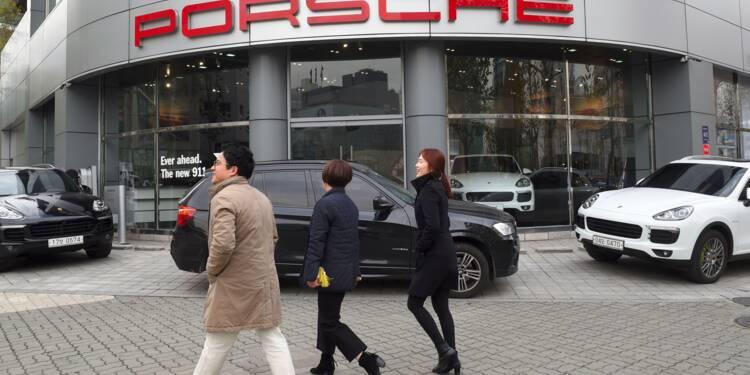 Dieselgate: la Corée du Sud met Volkswagen et Porsche à l'amende
