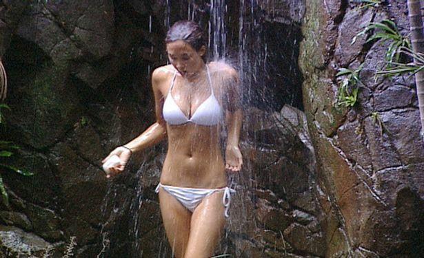 Jessica Plummer Explains Why She Was Nude Im A Celeb Shower
