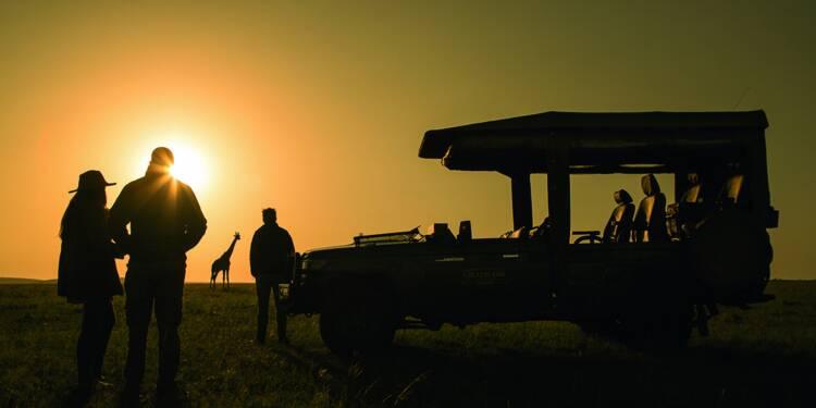 Lodges, service VIP... les safaris de luxe attirent les nantis