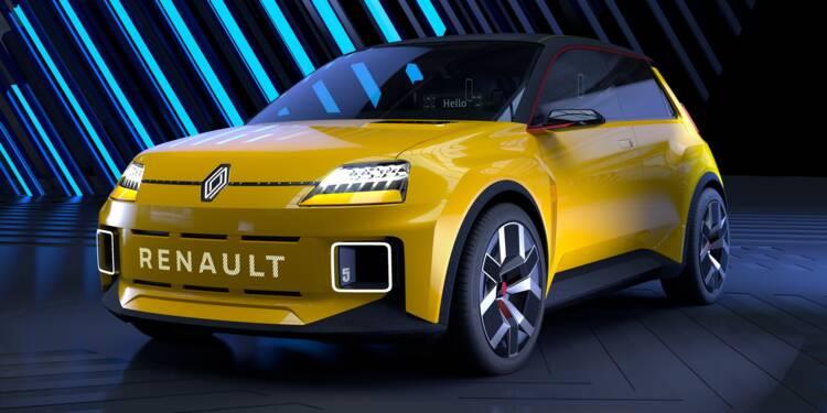 Renault va faire revivre sa R5 en version 100% électrique !