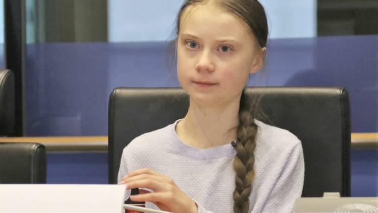 Greta Thunberg choisie pour illustrer un timbre en Suède