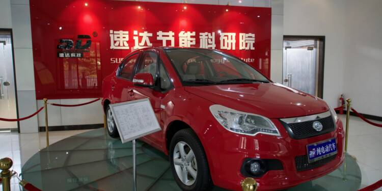 Polémique autour d'une voiture électrique chinoise