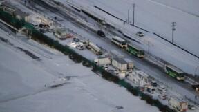 Plus de 130 véhicules impliqués dans un accident géant au Japon