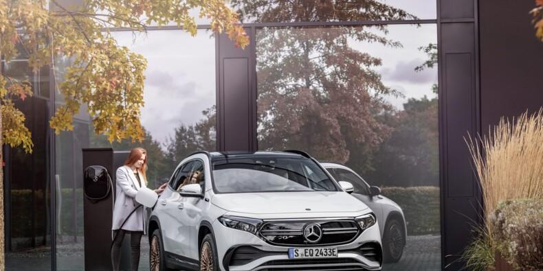Mercedes dévoile l'EQA, un SUV électrique dérivé du GLA
