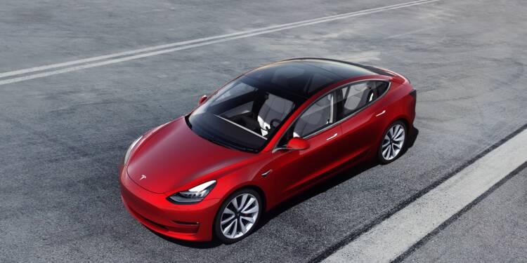 Tesla Model 3 : des tarifs en forte baisse