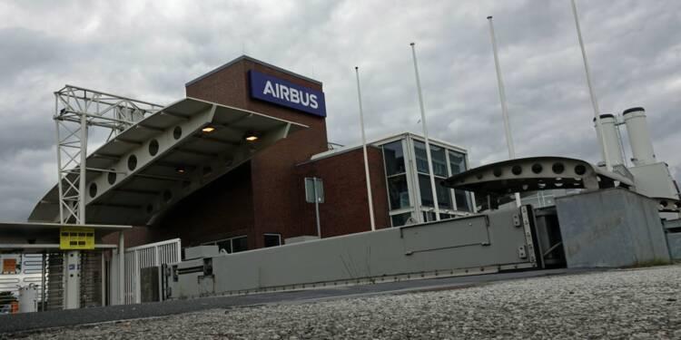 500 salariés d'Airbus en quarantaine