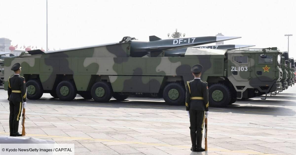 Le missile hypersonique chinois DF-17, nouveau cauchemar des officiers américains
