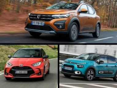 Les 10 voitures les plus vendues en France en janvier