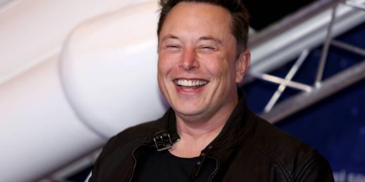 """Elon Musk fait exploser le dogecoin, """"crypto du peuple"""""""