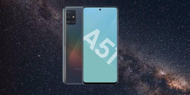 Samsung Galaxy : Le smartphone A51 en promotion à moins de 290€