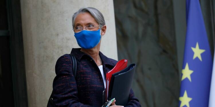 Banque, assurance... Élisabeth Borne monte au créneau pour relancer le télétravail