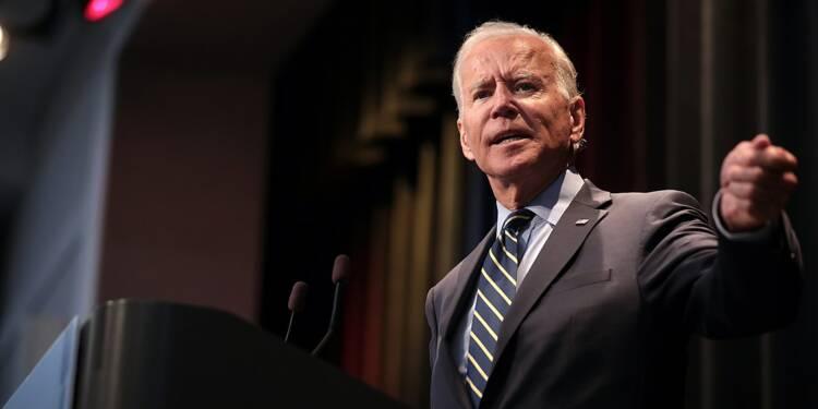 """Gaz : Joe Biden """"très clair"""" sur l'opposition des Etats-Unis à Nord Stream 2"""