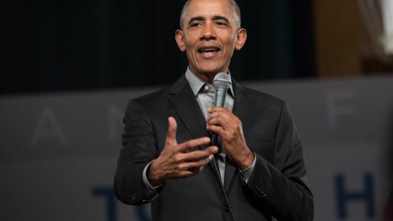 Des baskets conçues pour Barack Obama à vendre pour une fortune