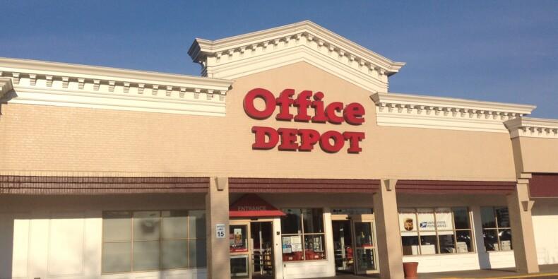 """""""Victime d'un fonds vautour"""", Office Depot risque de disparaître au printemps"""