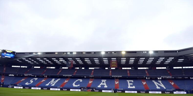 Pendant Caen-PSG, les VIP bafouent les gestes barrière