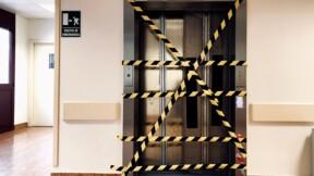 Les pièces de l'ascenseur proviennent de Chine, des retraités bloqués chez eux depuis Noël