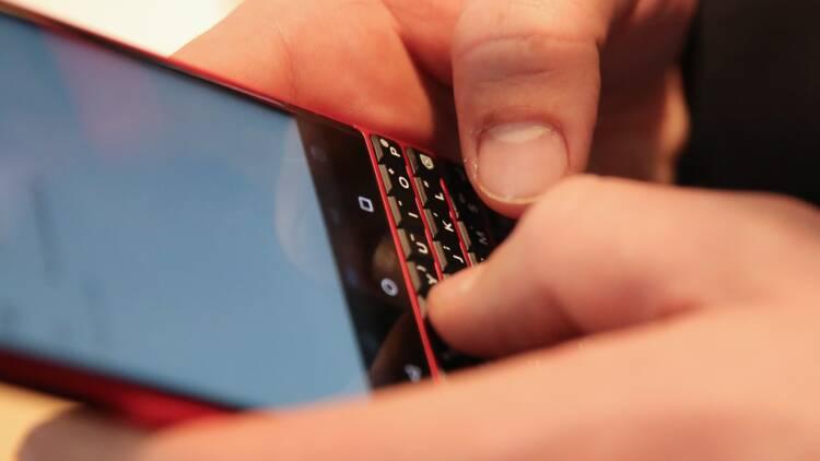 Le retour du BlackBerry à clavier physique !