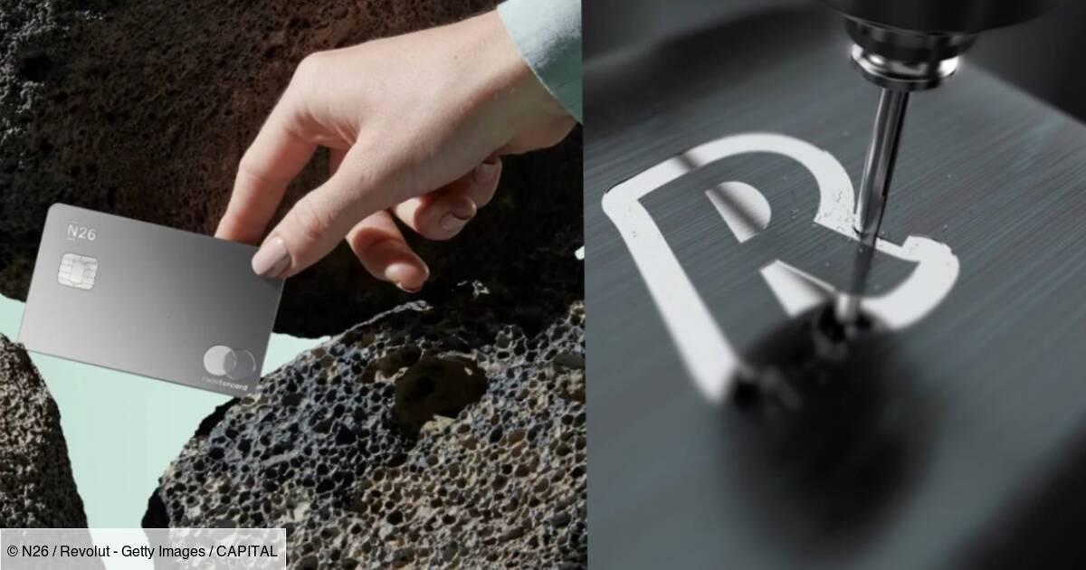CB : les nouvelles cartes en métal vendues par les banques sont-elles vraiment utiles ? - Capital.fr