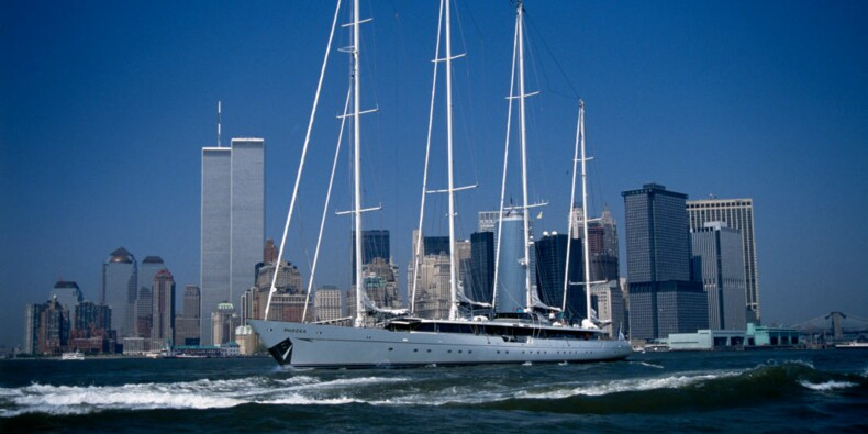 Phocéa : l'ancien yacht de Bernard Tapie victime d'un incendie