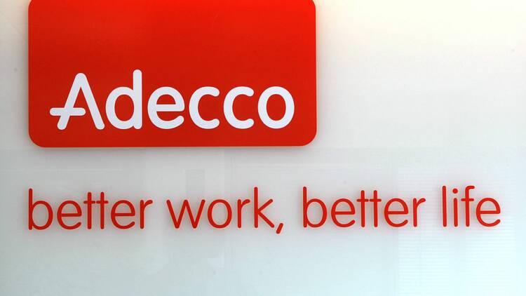 Le géant de l'intérim Adecco bascule dans le rouge en 2020