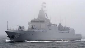 Découvrez l'énorme destroyer qui protège les porte-avions chinois