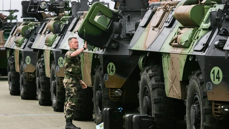 Arquus (ex-Renault Trucks Defense) veut livrer 20 blindés Jaguar et 119 Griffon