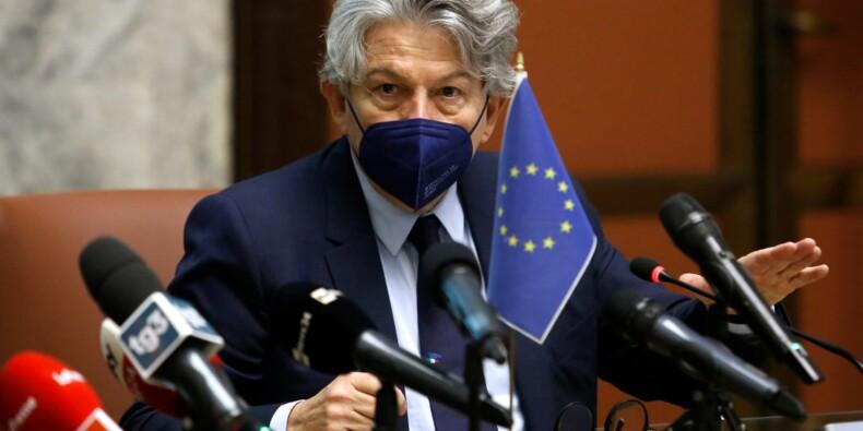 """Thierry Breton précise les modalités du futur """"passeport vert"""" de l'UE"""