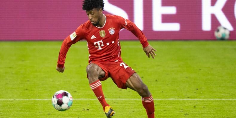Le footballeur Kingsley Coman mis à l'amende par le Bayern pour une étonnante raison