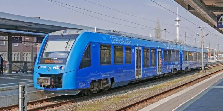 Train à hydrogène : quatre régions passent commande auprès d'Alstom