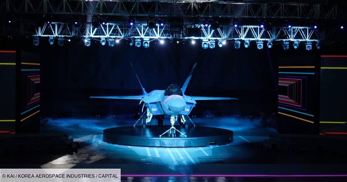 Avion de chasse : la Corée du Sud présente son KF-21