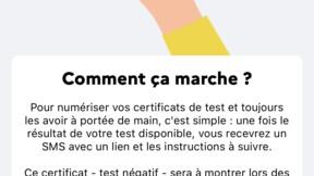 TousAntiCovid : le mode d'emploi pour intégrer vos certificats de tests et de vaccination