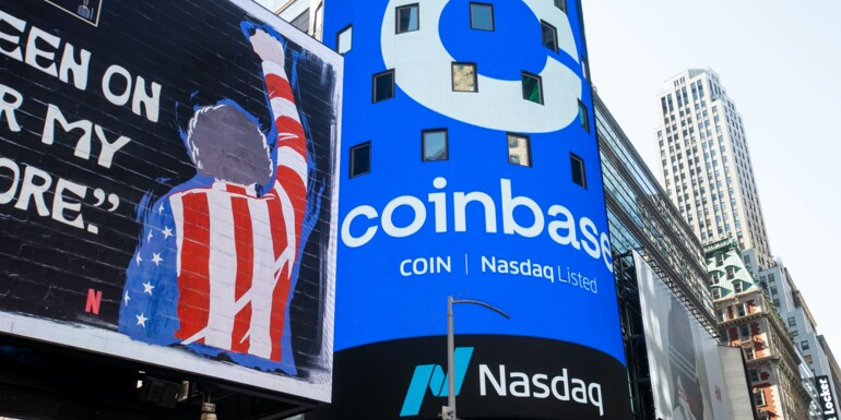 Coinbase : arrêt des négociations sur les actions à la Bourse de Francfort