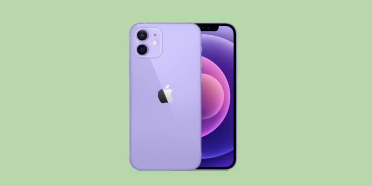 iPhone 12 : Le nouveau coloris Apple déjà en promotion chez Amazon