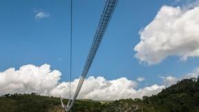 Le pont pédestre suspendu le plus long du monde a ouvert au Portugal