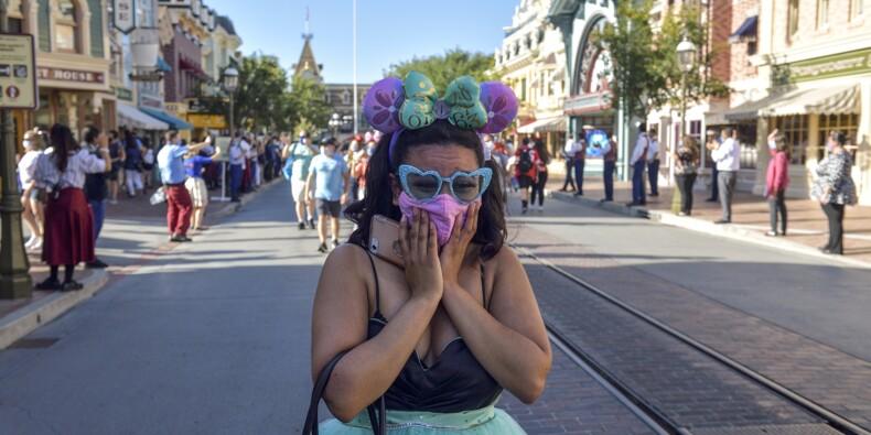 Californie : les fans exultent à la réouverture de Disneyland