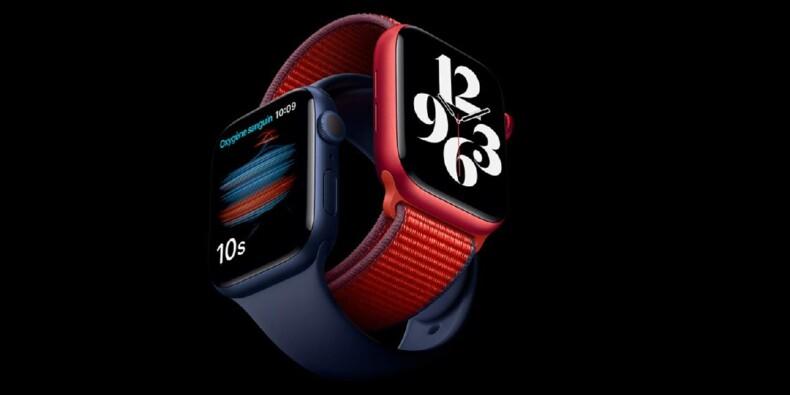 Apple Watch Series 6 : Vente flash à saisir sur le dernier modèle Apple chez Amazon