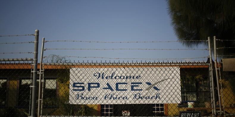 SpaceX accusé d'avoir violé la loi en bloquant une route au Texas
