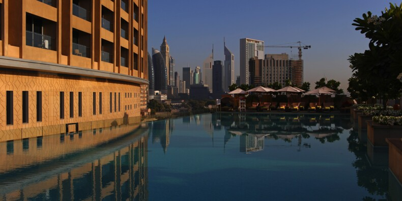 La piscine la plus haute du monde a ouvert ses portes