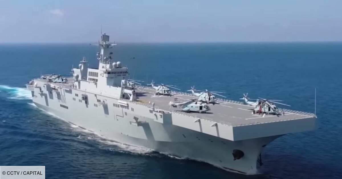 Découvrez le nouveau porte-avions miniature chinois