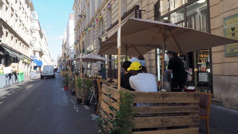 Une solution supplémentaire offerte aux restaurateurs pour leurs terrasses