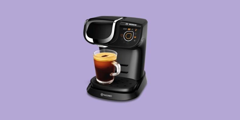 Amazon : -54% sur la machine à café Bosch Tassimo My Way 2