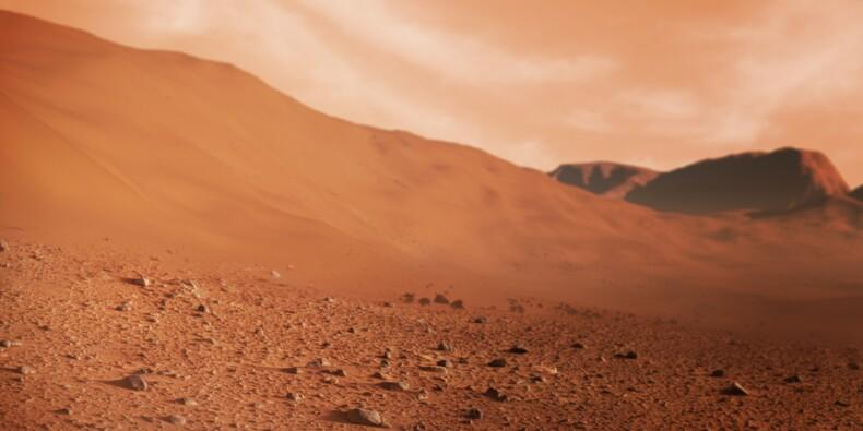 Un robot chinois s'est posé sur Mars