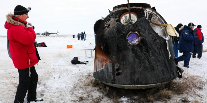 Russie : Roscosmos vend une capsule spatiale Soyouz, une première