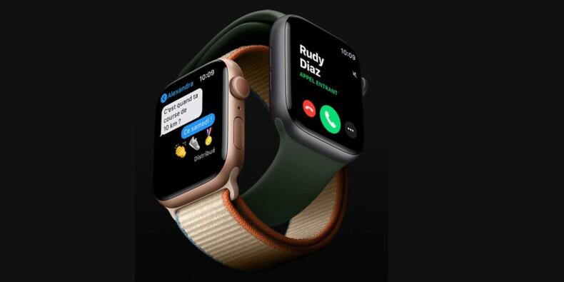 Amazon : La montre connectée Apple Watch Series 6 à prix réduit chez Amazon