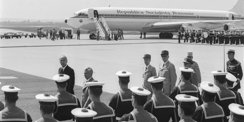 Roumanie : l'avion de l'ancien dictateur Ceausescu vendu pour une rondelette somme