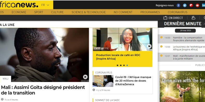 Afrique : ces chaînes d'information sous influence